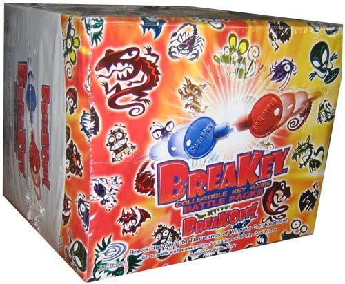 Breakey Key Game - Battle Booster Packs Box