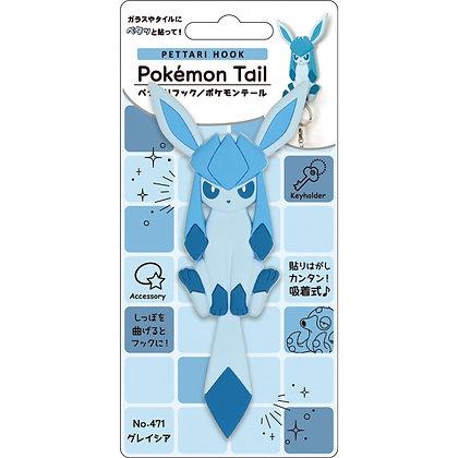 """""""Pokemon"""" Pettari Hook Pokemon Tail Glaceon"""