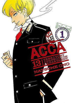 ACCA 13-Territory Inspection Department Vol. 1 MangaPaperback
