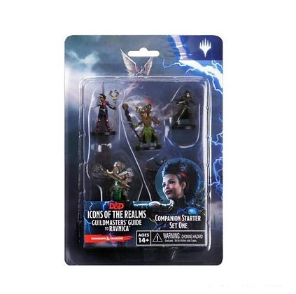 D&D Icons of the Realms Ravnica Starter Set 1 Miniatures Figures