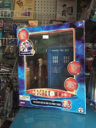DOCTOR WHO 7TH DOCTOR & TARDIS AF 2PK  SEVEN 20 From Underground Toys!