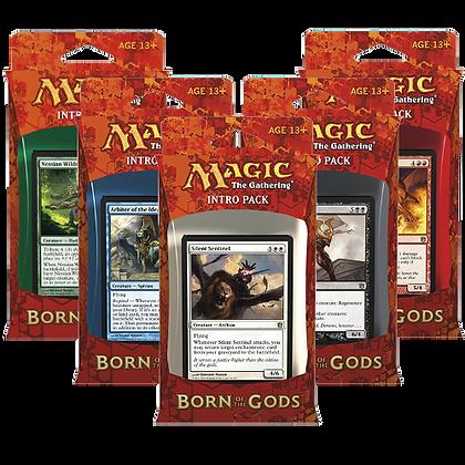 Magic the Gathering  Born of the Gods  Set of 5 Sealed Intro Decks Sealed