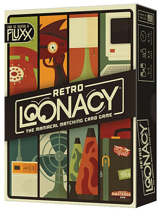 Retro Lunacy Card Game by Looney Labs