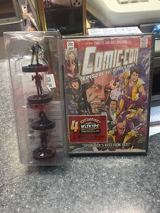 Comic-Con: Episode IV: A Fan's Hope: Exclusive DVD + 4 HeroClix Figure Set