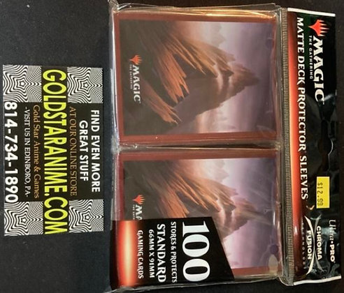 Magic The Gathering Card Sleeves - Unstable Mountain (100)
