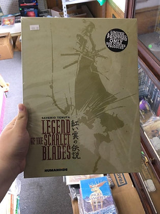 Legend of the Scarlet Blades: Oversized Deluxe Edition Hardcover – October 30, 2