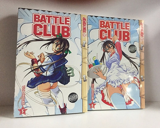 Battle Club Volume 5,6 (2 Manga Books)Paperback – September 4, 2007  byYuji