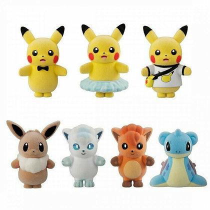 Bandai Pokemon Pokemofu Doll 4 10Pack BOX CANDY TOY