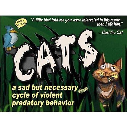 Cats a sad but Necessary Cycle of Violent Predatory Behavior