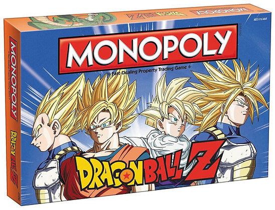 Dragon Ball Z Edition Monopoly