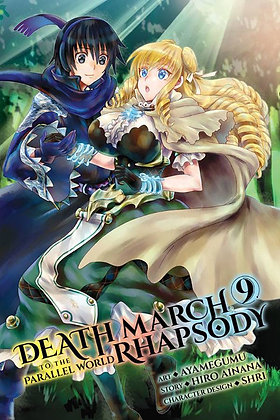 DEATH MARCH PARALLEL WORLD RHAPSODY GN VOL 09 (C: 1-1-2) YEN PRESS (W) Hiro Aina