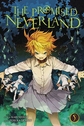 PROMISED NEVERLAND GN VOL1,3,4,5,6,7
