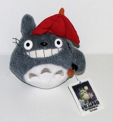 My Neighbor Totoro, Totoro w/ Umbrella 4'' Plush by GUND
