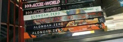 Aldnoah.Zero  Vol. 1,2,3,4 (Manga) (Books) Manufacturer: Yen Press