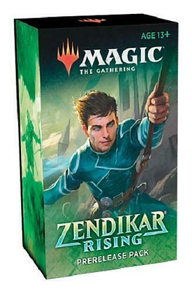 Presale Magic the Gathering MTG Zendikar Rising Prerelease Pack Booster Kit
