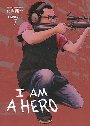 I AM A HERO OMNIBUS TP VOL 1,2,7 Manga