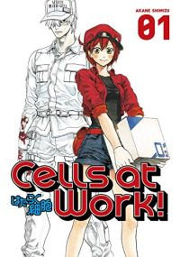 Cells at Work! Vol.1-5 Manga