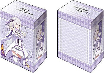 """Bushiroad Deck Holder Collection V2 Vol. 435 """"Re:Zerokara Hajimeru Isekai Seikat"""