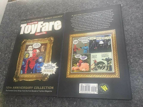 TWISTED TOYFARE 10TH ANNIVERSARY COLLECTION TP (one paperback book) WIZARD ENTER