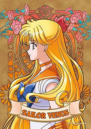 """Ensky""""Sailor Moon Crystal"""" Art Crystal Jigsaw 208P Sailor VENUS"""
