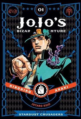 JoJo's Bizarre Adventure Part 3 Stardust Crusaders Vol. 1,2,3,4,5,6,7,8,9,10