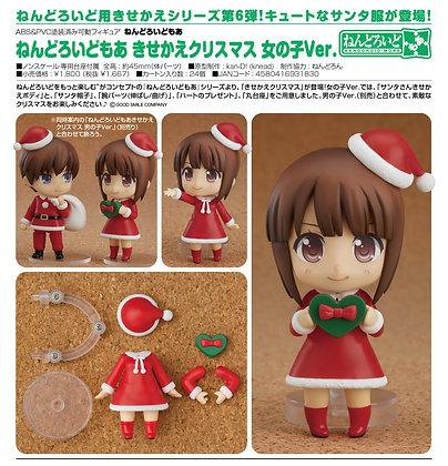 Nendoroid More Christmas Set Female Ver.