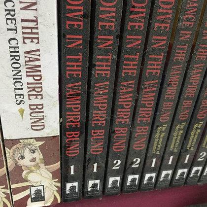 Dive in the Vampire Bund Vol.1,2  (Manga) (2 Books)