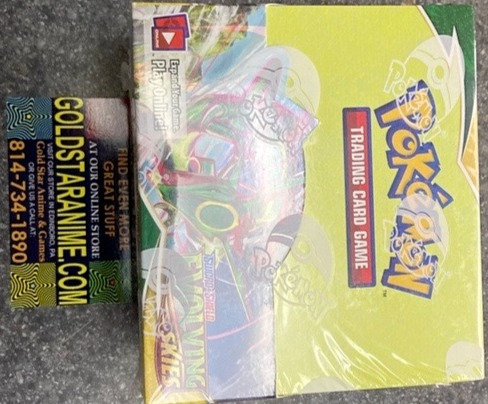 Pokemon Sword and Shield Evolving Skies Booster Display Box