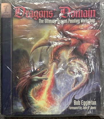 Dragons' Domain by Bob Eggleton (2010, Trade Paperback)