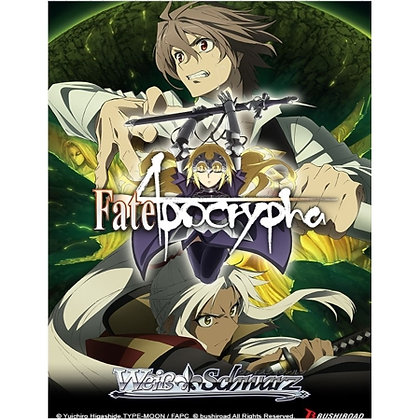 3 packs of WEISS SCHWARZ: BOOSTER - FATE/APOCRYPHA