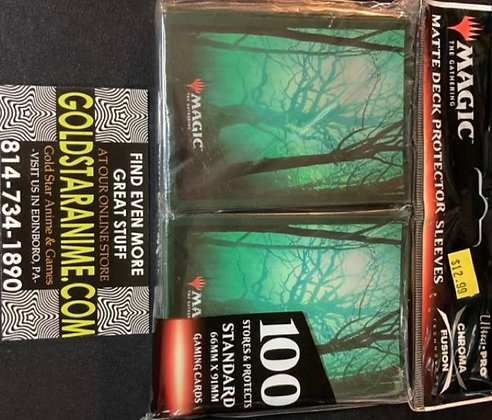 Magic The Gathering Card Sleeves - Unstable Forest (100)