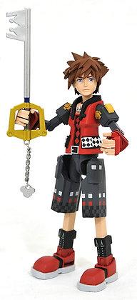 DIAMOND SELECT TOYS Kingdom Hearts 3: Toy Story Valor Form Sora Action Figure