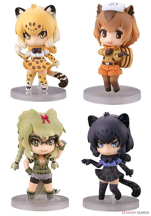 CapsuleQ Characters Kemono Friends Deformation Solid Picture Book -Capsule Frien