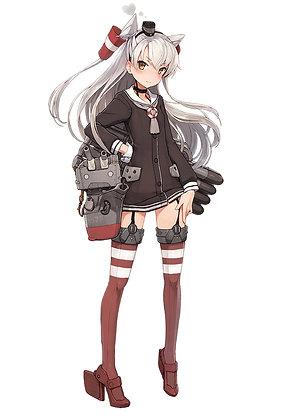"1/700 ""Kantai Collection"" 16 Kanmusu Destroyer Amatsukaze Model kit"