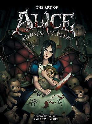 ART OF ALICE MADNESS RETURNS HC DARK HORSE COMICS (W) American McGee Legendary g