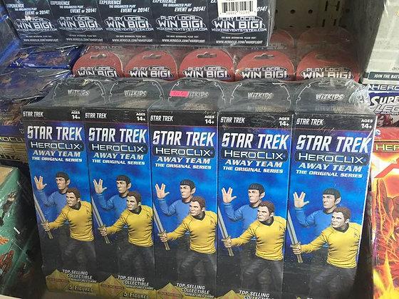 SEALED BOOSTER BRICK 10 CT Star Trek HeroClix Away Team
