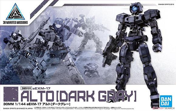 30MM eEXM-17 Alto [Dark Gray] (Plastic model)