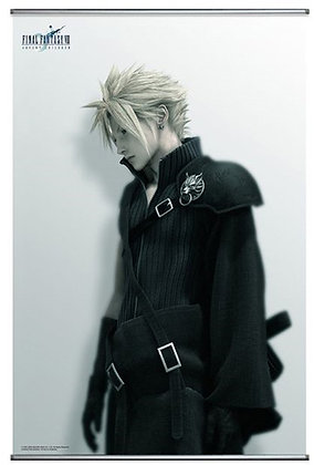 "Square Enix  ""Final Fantasy VII -Advent Children-"" Wall Scroll / Poster Cloud"