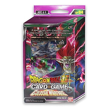 Dragon Ball Z Super TCG Colossal Warfare Series 4 Special Pack