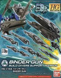 Gundam Build Divers Binder Gun, Bandai HGBC