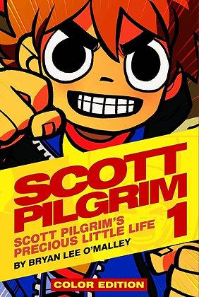 SCOTT PILGRIM COLOR HC ONI PRESS INC. Vol. 1, 2,3,4, 5,6 (English MANGA) NEW