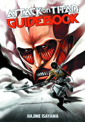 ATTACK ON TITAN GUIDEBOOK SC  KODANSHA COMICS