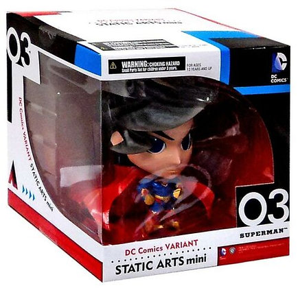 Square Enix DC Universe Variants Static Arts Superman 6-Inch Mini Figure