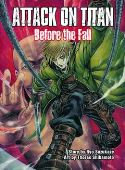 ATTACK ON TITAN BEFORE THE FALL NOVEL VERTICAL INC (W/A/CA) Ryo Suzukaze In this