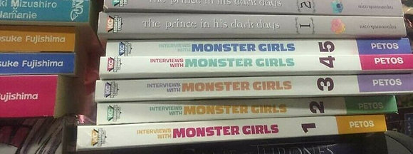 INTERVIEWS WITH MONSTER GIRLS GN VOL. 1,2,3,4,5 (ENGLISH Manga)