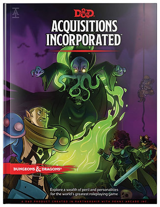 Acquisitions Incorporated (Dungeons and Dragons Setting Module) Hardcover