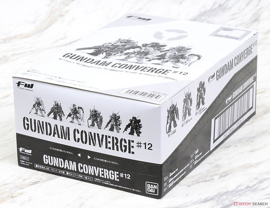 Box of 10 BandaiMobile Suit GundamFW Gundam Converge #12 (Shokugan)