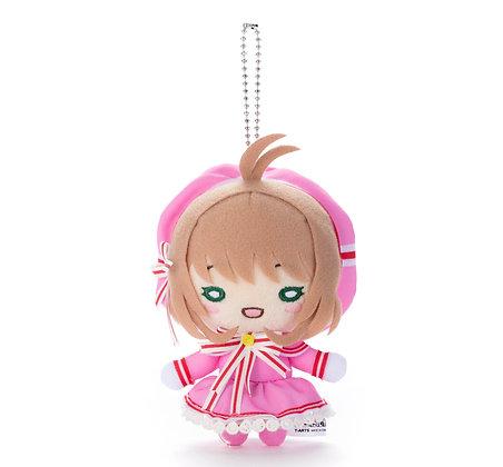 """Nitotan """"Cardcaptor Sakura: Clear Card Arc"""" Plush withBall Chain Sakura (Battle"""