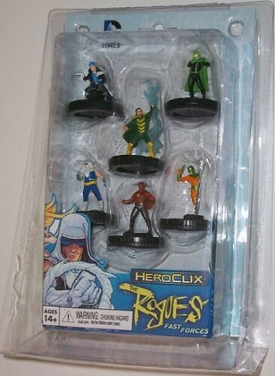 THE ROGUES FAST FORCES PACK THE FLASH DC HeroClix
