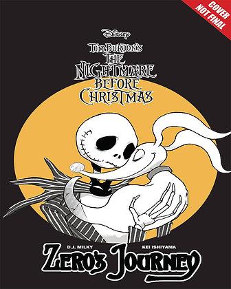 DISNEY MANGA NIGHTMARE CHRISTMAS ZEROS JOURNEY TP VOL 01